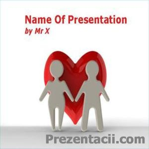 Кохання – шаблон для презентацій до 8 березня