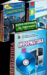 Електронні матеріали до підручників з інформатики 8 клас